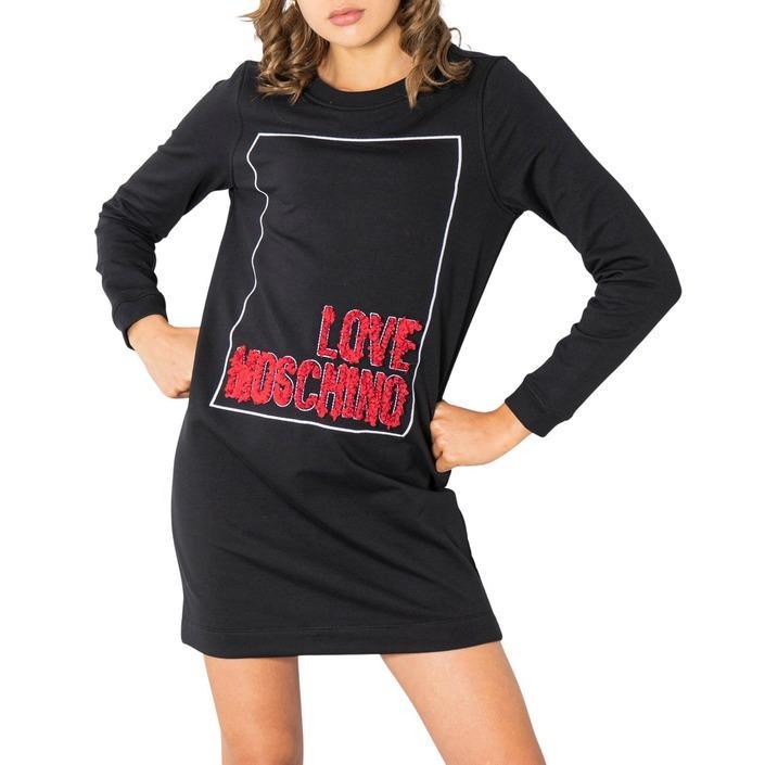 Love Moschino - Love Moschino Women Dress - black 38