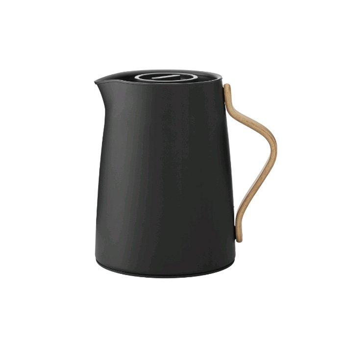 Stelton - Emma Vaccum Jug Tea 1 L - Black (x-201-2)