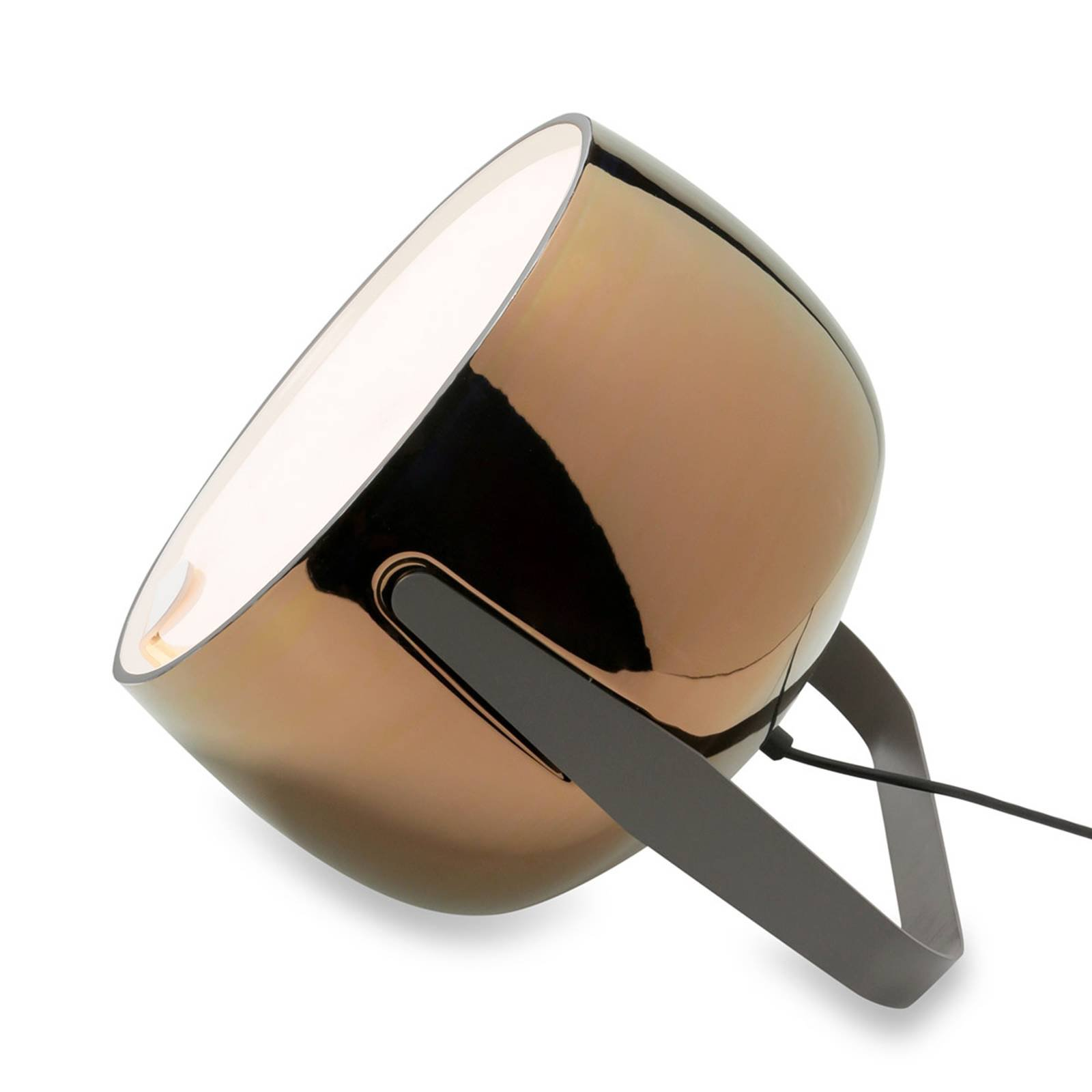 Karman Bag - keramisk gulvlampe, bronse