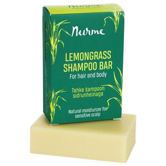 Nurme Lemongrass Shampoo Bar, 100 g