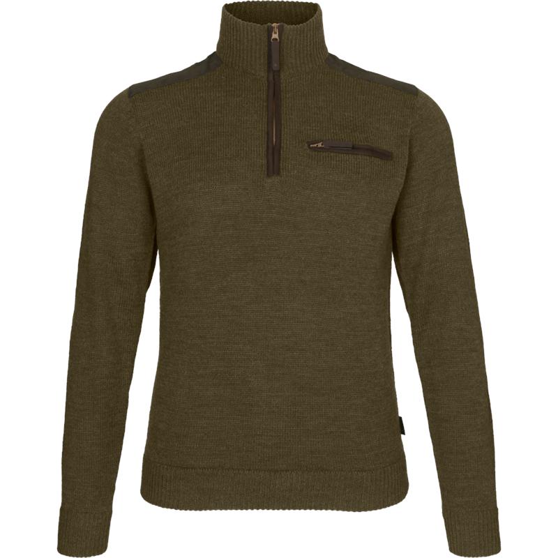 Seeland Buckthorn genser XL Shaded Olive Melange