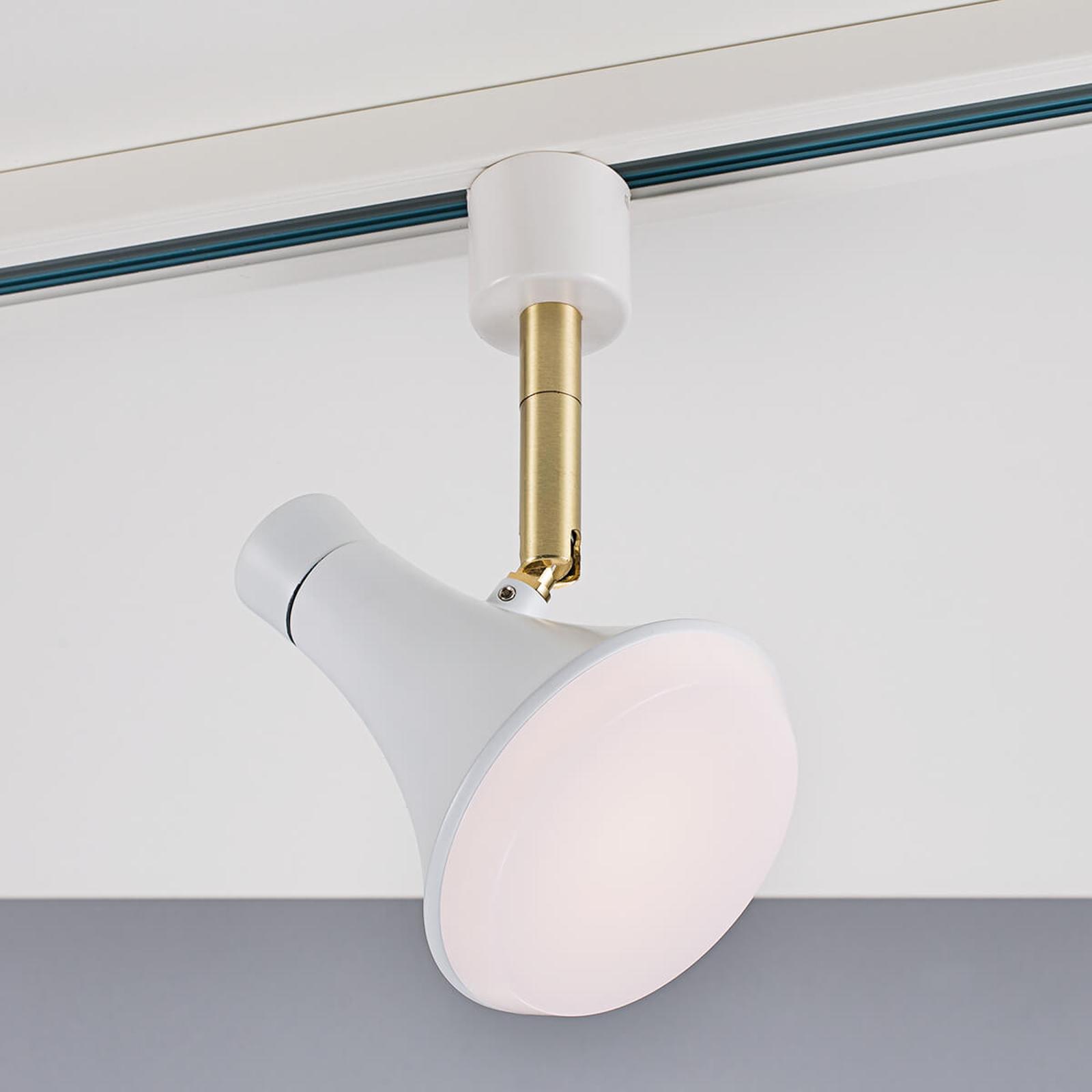 LED-kohdevalaisin Sleeky Link-suurjännitekiskoon