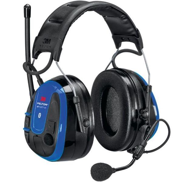 3M Peltor WS Alert XPI Hørselsvern med Bluetooth app og issebøyle