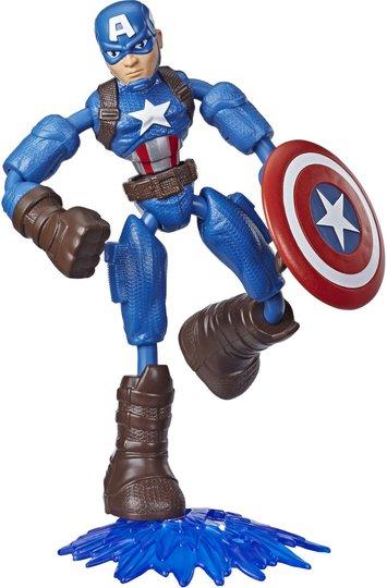 Marvel Avengers Bend N Flex Figur Captain America