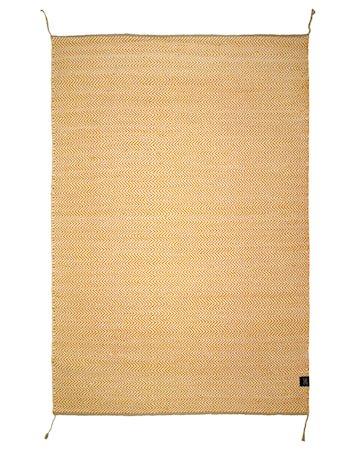 Herringbone teppe honey gold - 140x200
