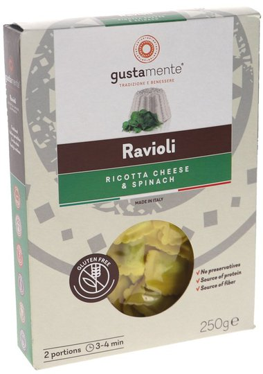Ravioli Ricotta & Pinaatti - 34% alennus