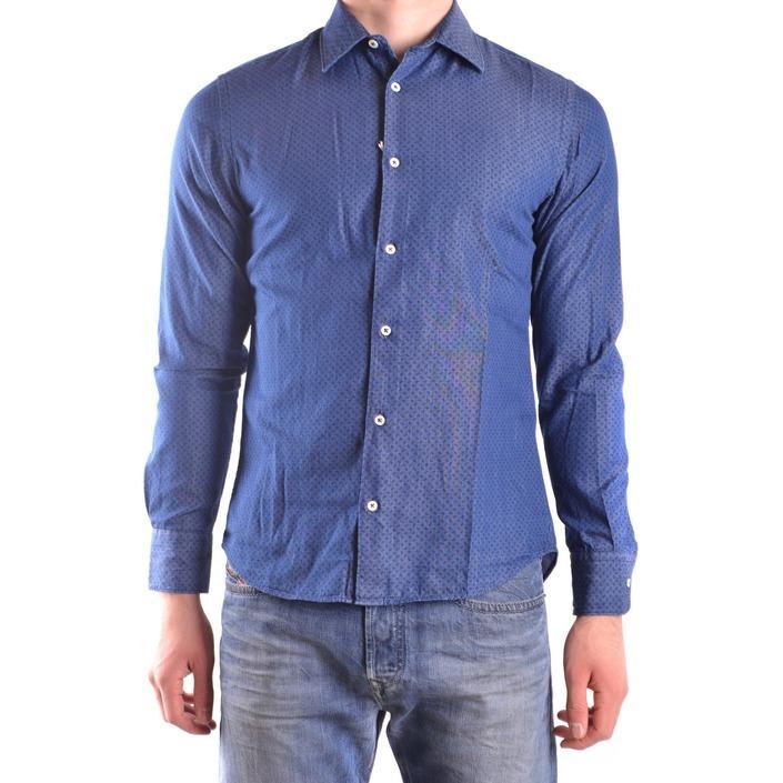 Altea Men's Shirt Blue 160849 - blue S