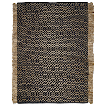 Goa Teppe Svart/Jute 170x230 cm