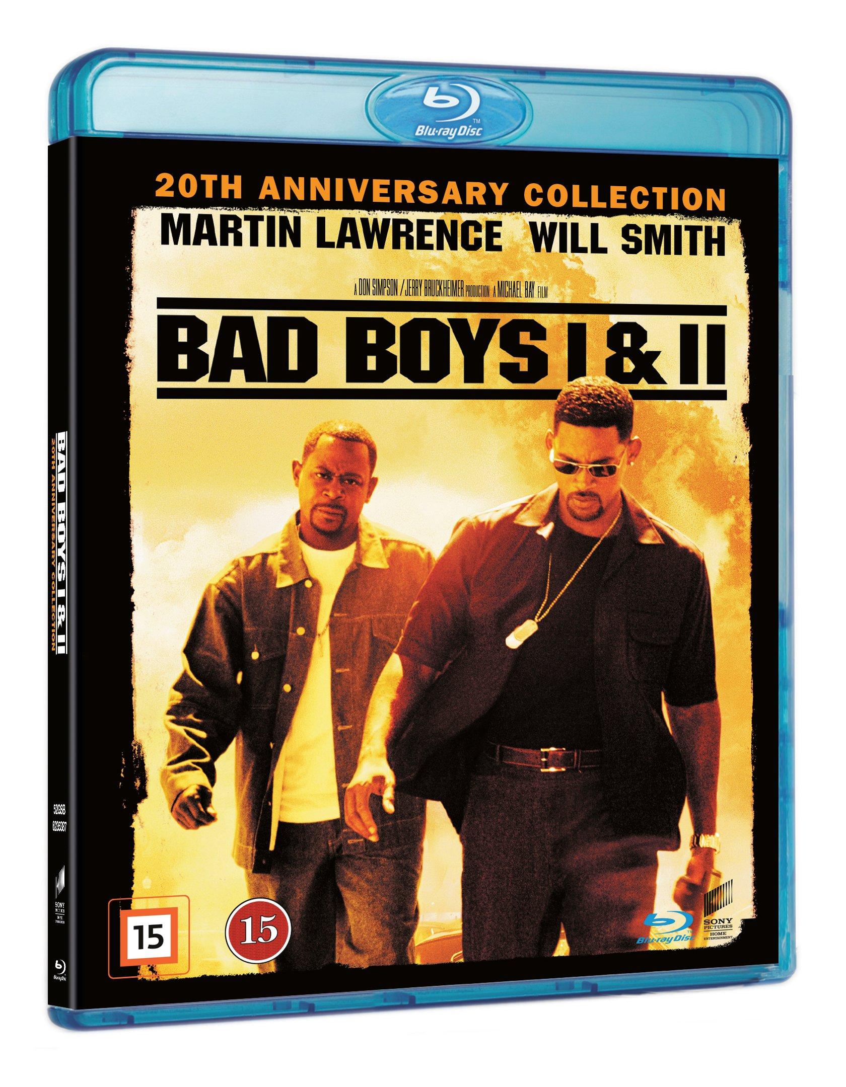 Bad Boys 1 & 2 Blu ray