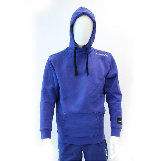 Shimano Hoody huvtröja, blå
