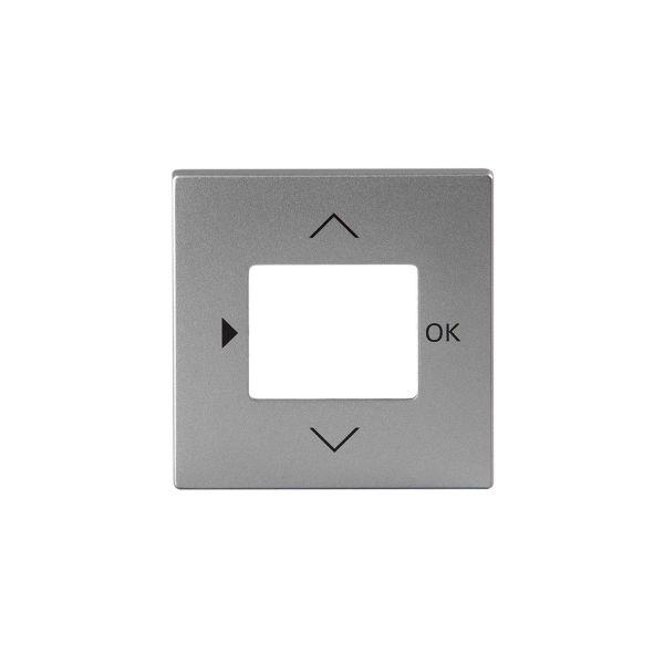 ABB Impressivo 6435-83 Midtplate for timer Aluminium
