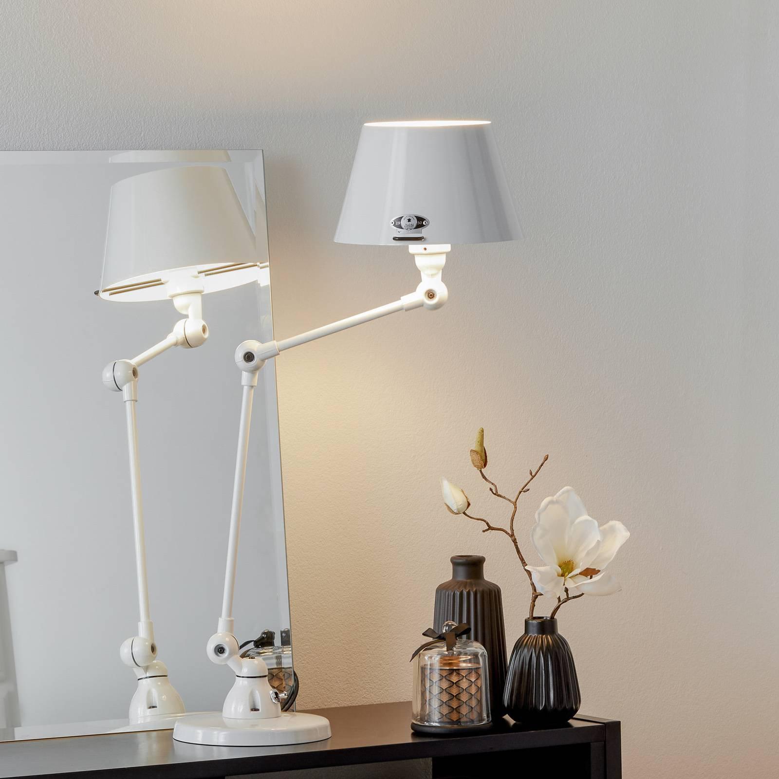 Jieldé Aicler AID373 bordlampe, hvit