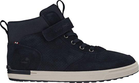 Viking Samuel Mid WP Jr Sneaker, Navy, 30