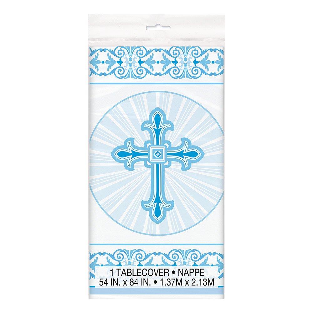 Plastduk Kors Blå