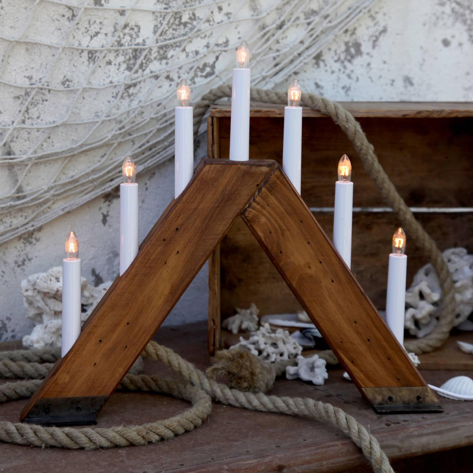Viking-kynttelikkö 7-lamppuinen