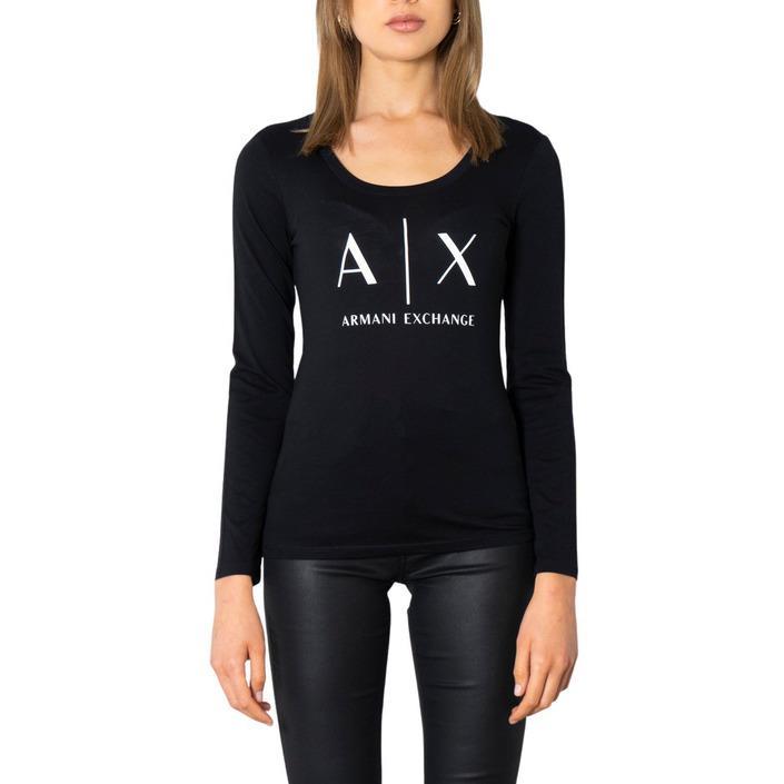 Armani Exchange Women's T-Shirt Black 299917 - black XS