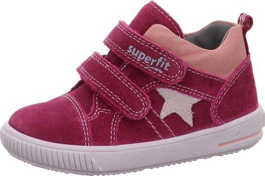 Superfit Moppy Sneaker, Red/Pink, 19