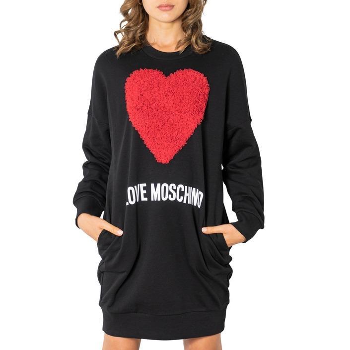 Love Moschino Women's Dress Black 321890 - black 38