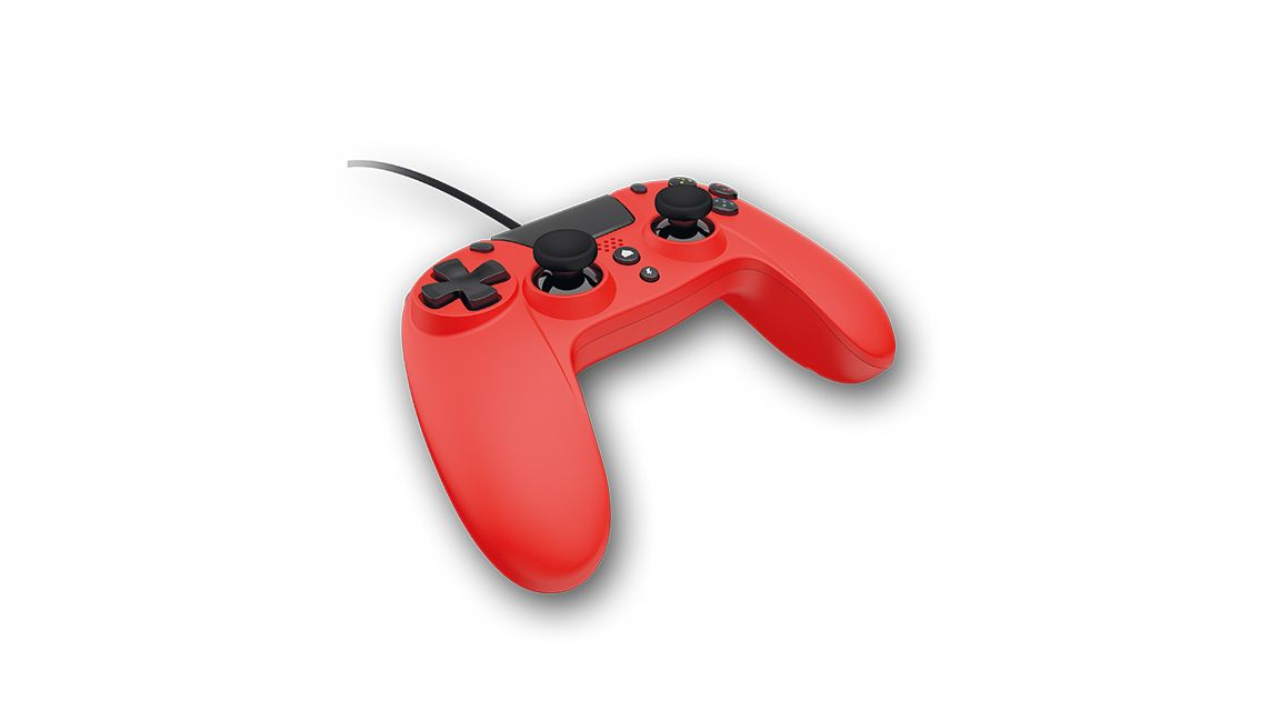 Gioteck Playstation 4 VX-4 Wired Controller (Red)