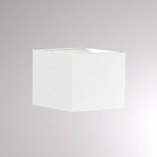 LOUM Foro LED-vegglampe 2 700 K bredde 7 cm hvit