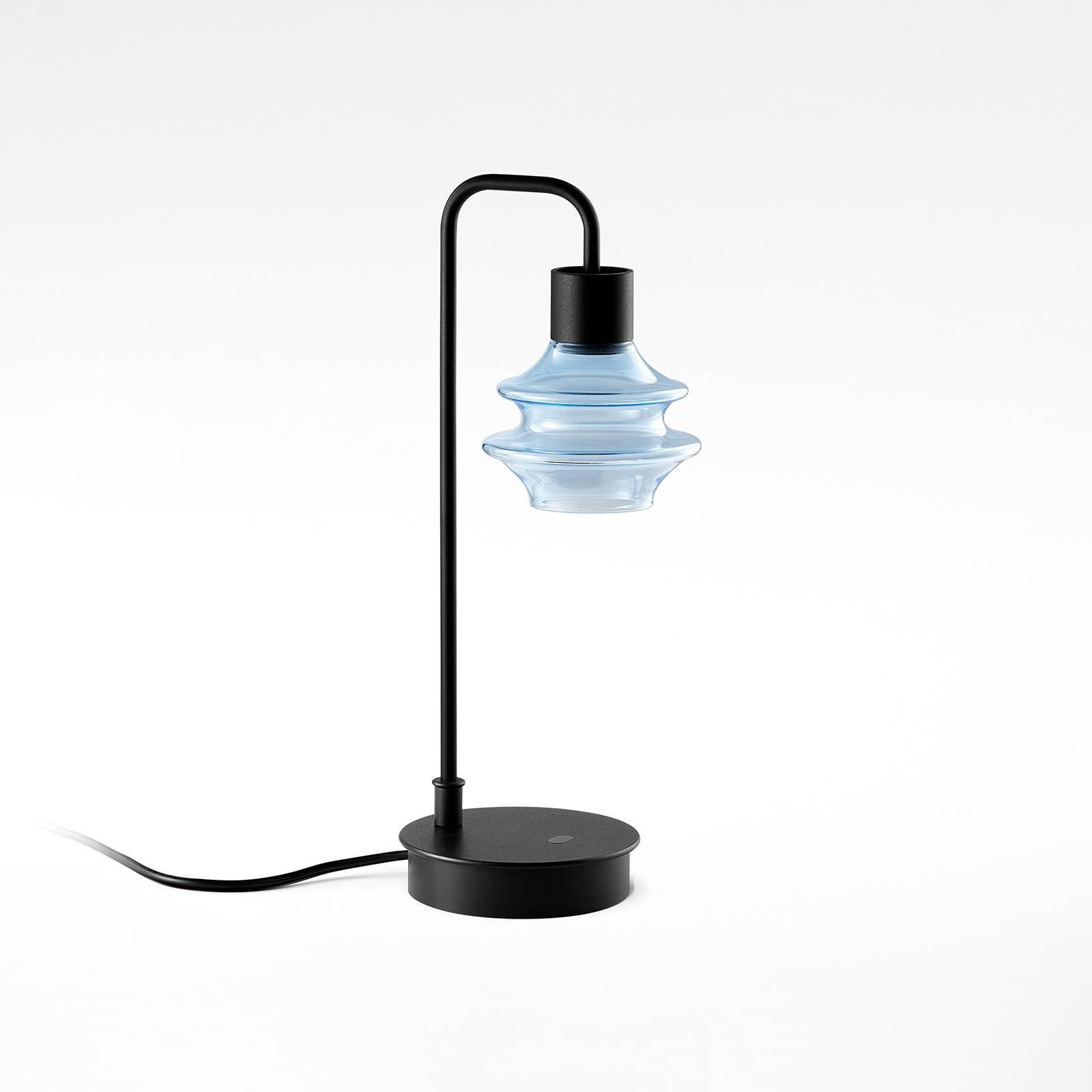 Bover Drop M/36 LED-bordlampe blå