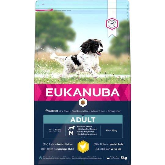 Eukanuba Dog Adult Medium Breed (3 kg)