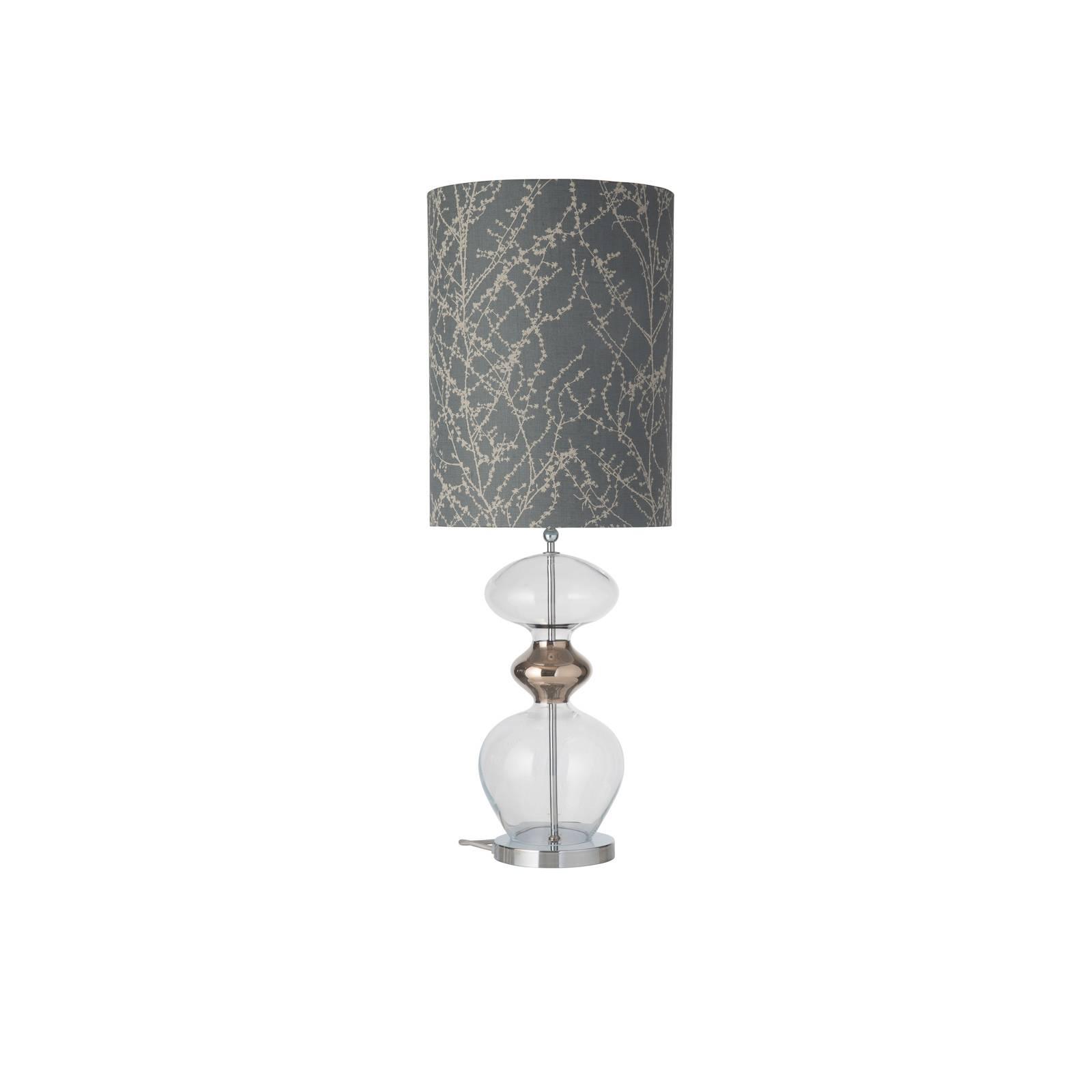 EBB & FLOW Futura-pöytälamppu Branches grey/silver