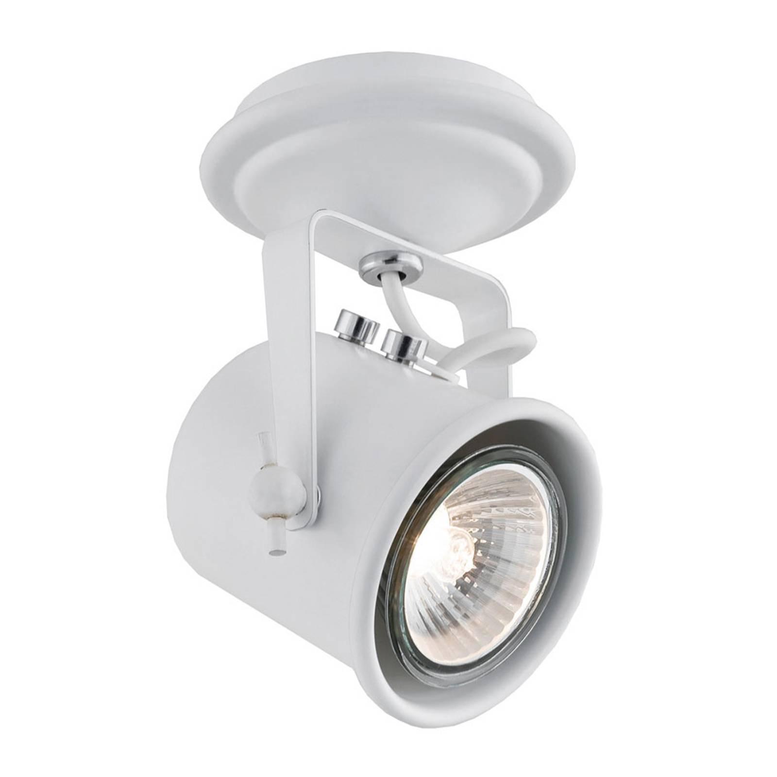 Kattospotti Canico, 1-lamppuinen, valkoinen