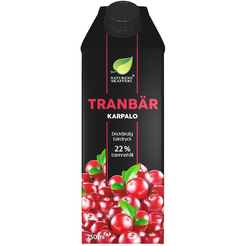 Tranbärsdryck - 11% rabatt