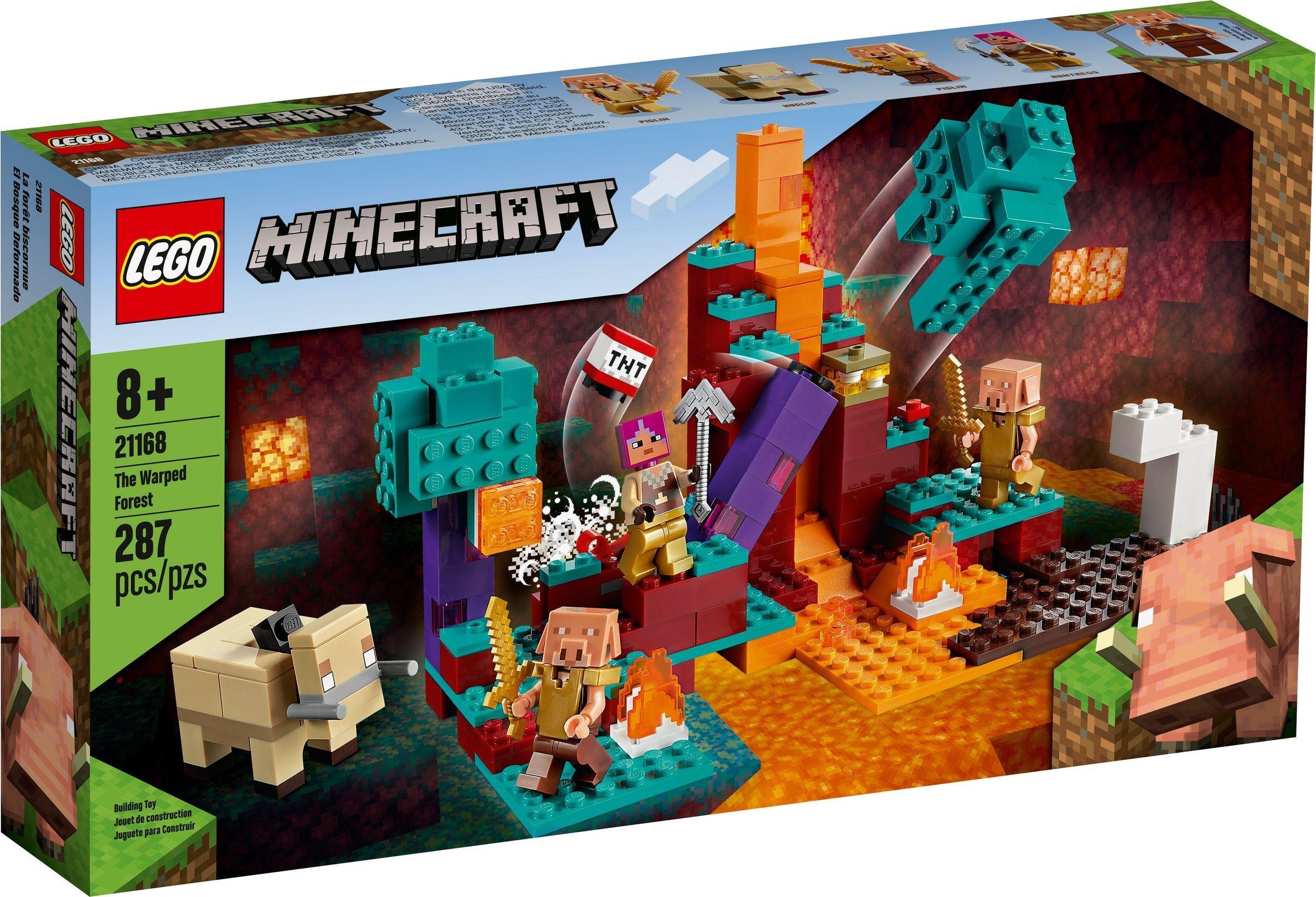 LEGO Minecraft - The Warped Forest (21168)