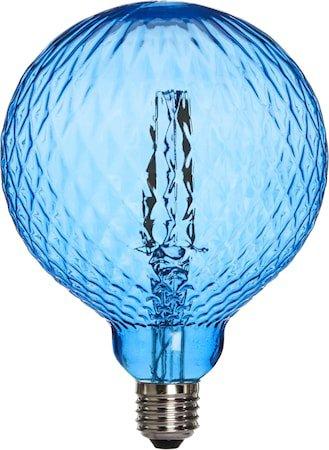 Elegance LED Cristal Cristal Blå 125mm