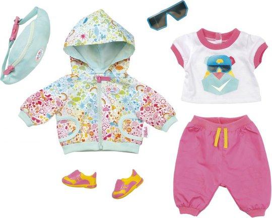 BABY born Play & Fun Dukkeklær Deluxe Biker Outfit