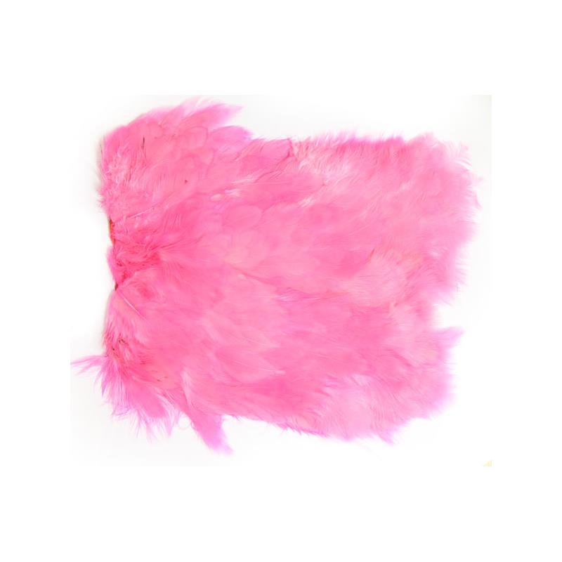 Softhackle patch Fluo Pink