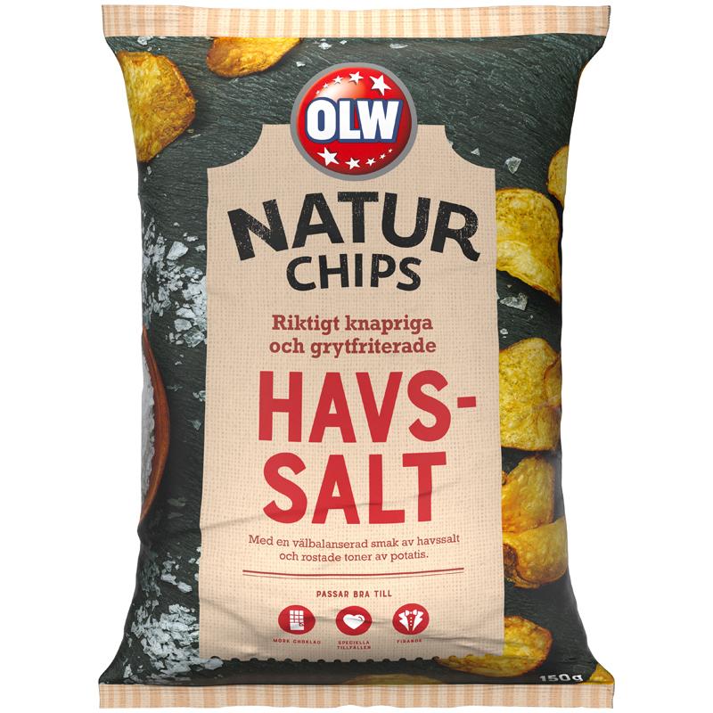 Naturchips Havssalt - 25% rabatt