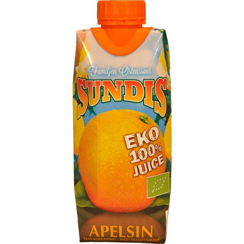 Sundis Apelsin EKO - 90% rabatt