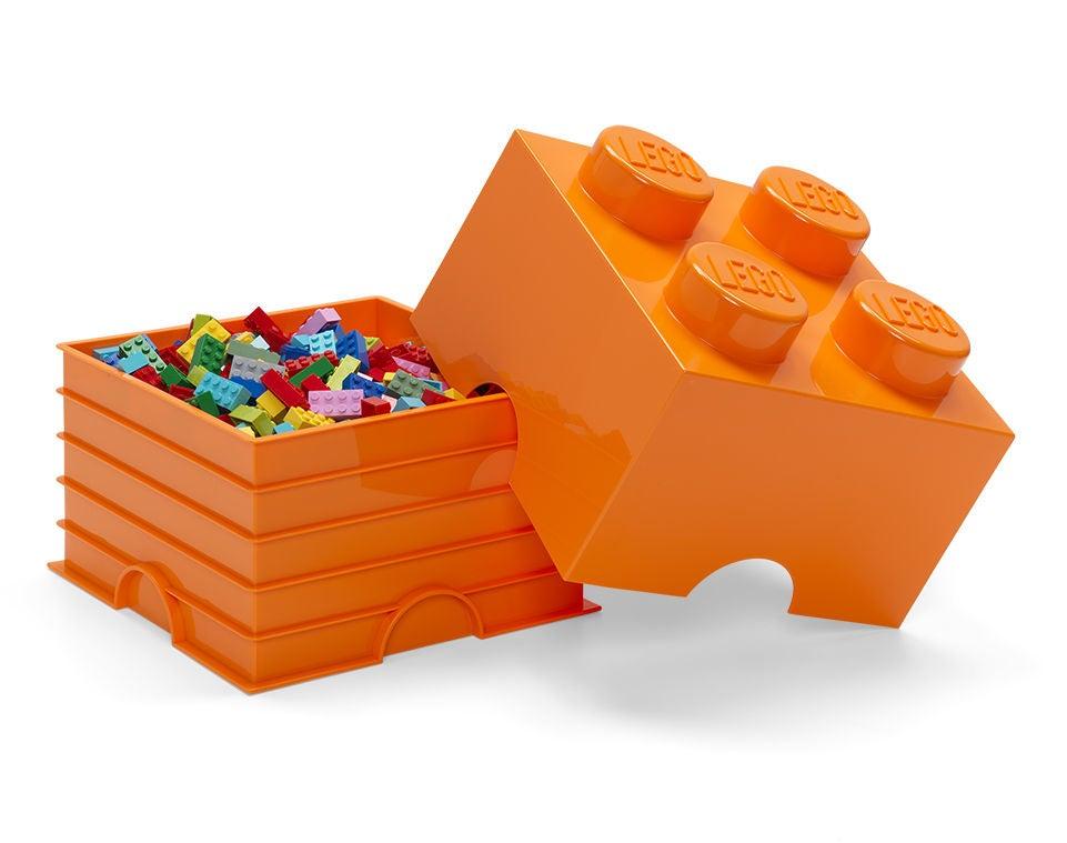 LEGO Säilytyslaatikko 4, Oranssi