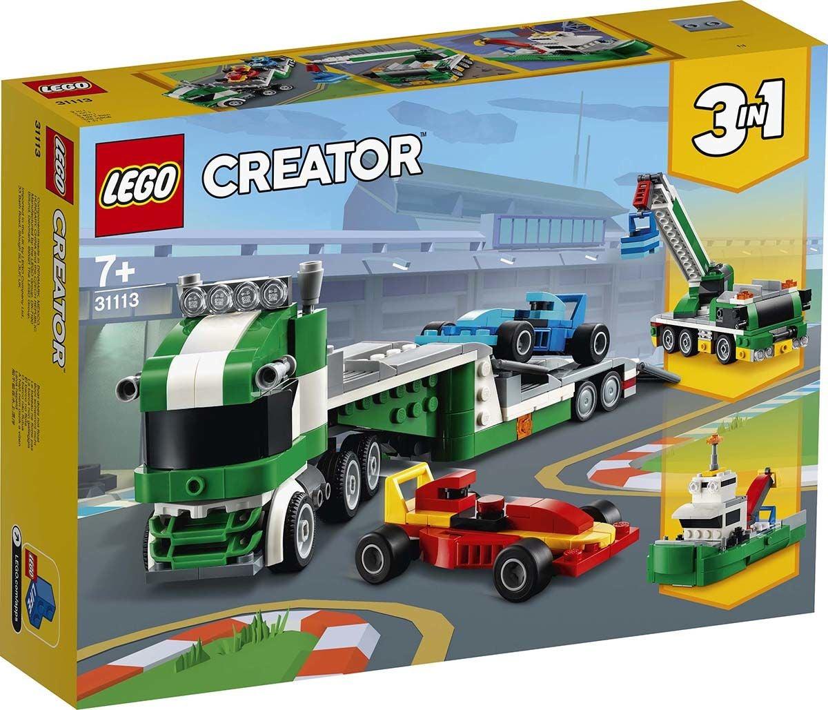LEGO Creator 3-in-1 31113 Kilpa-auton Kuljetusauto