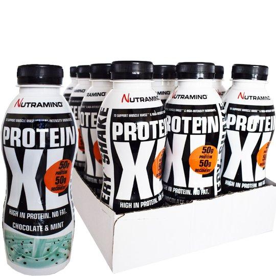 Proteinshake XL Choklad & Mint 12-pack - 76% rabatt