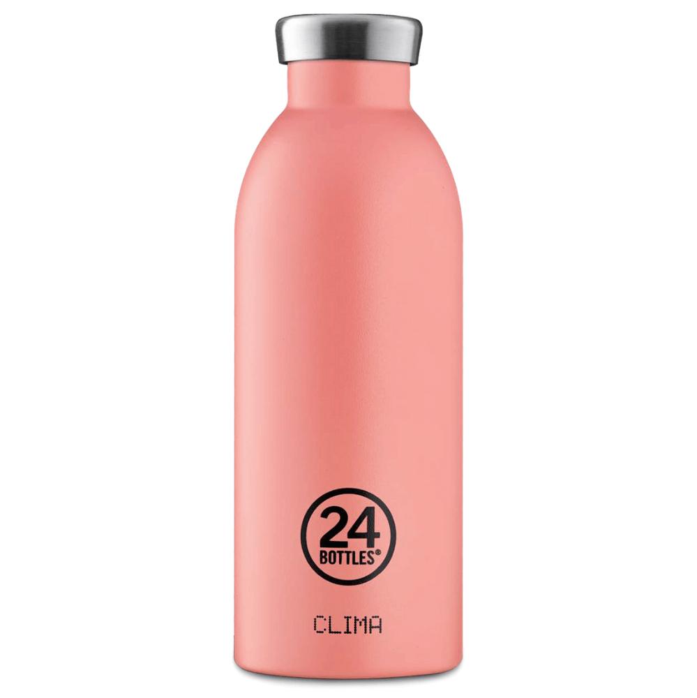 24 Bottles - Clima Bottle 0,5 L - Stone Finish - Blush Rose (24B530)