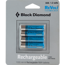 Black Diamond BD Aaa Rechargeable Battery 4 Pack