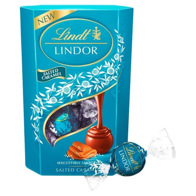 Lindor Salted Caramel Truffles 200g