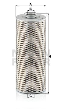 Öljynsuodatin MANN-FILTER H 15 190 n