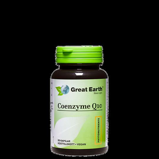 Coenzyme Q-10 120 mg, 50 kapslar
