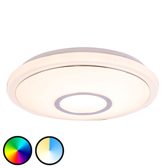 LED-kattovalaisin Conner, Tuya-Smart, Ø 40 cm