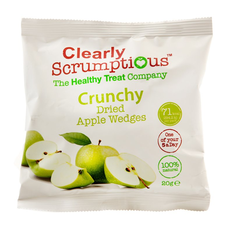 "Karkit ""Crunchy Dried Apple Wedges"" 20g - 80% alennus"