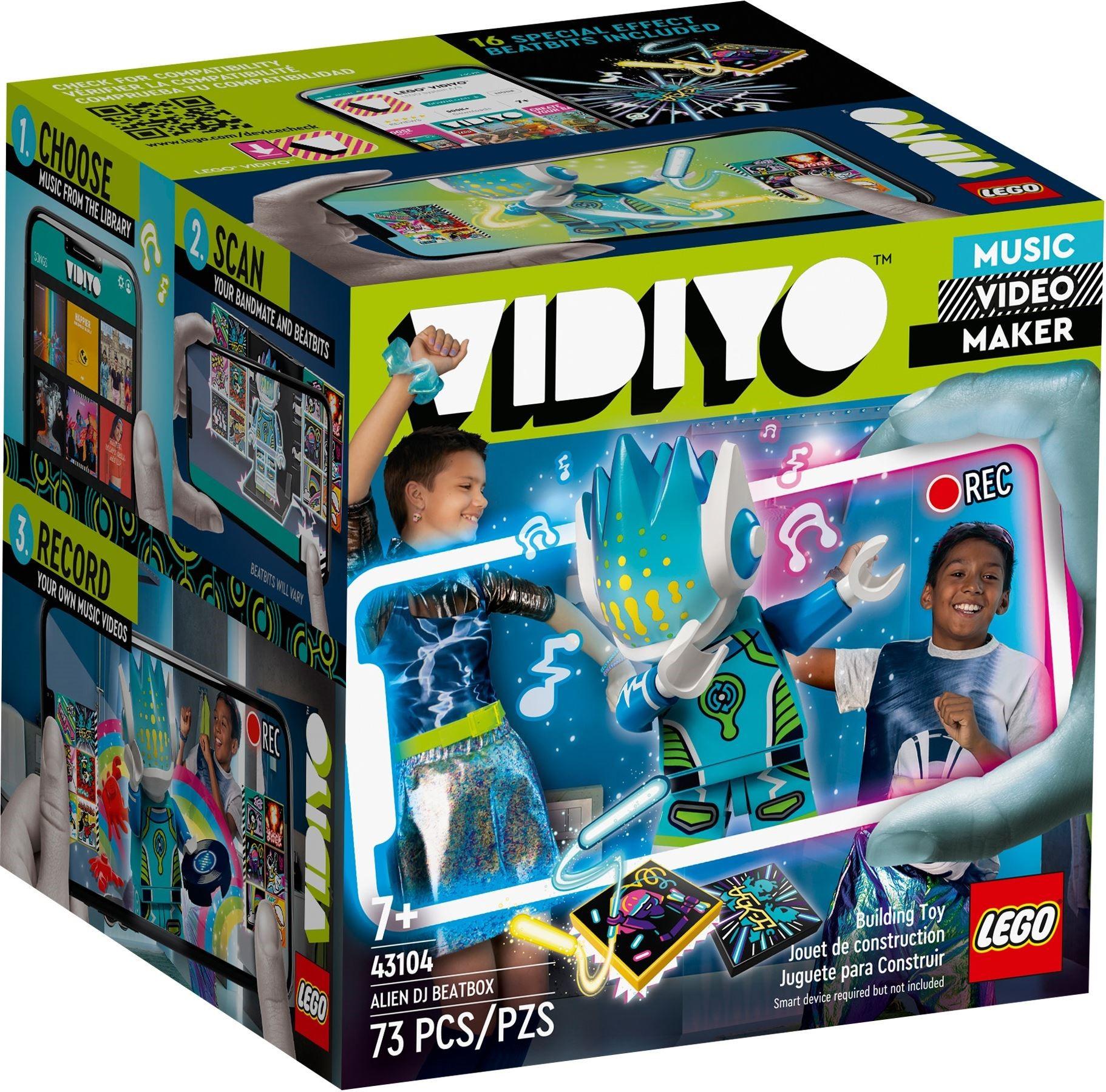 LEGO VIDIYO - Alien DJ BeatBox (43104)