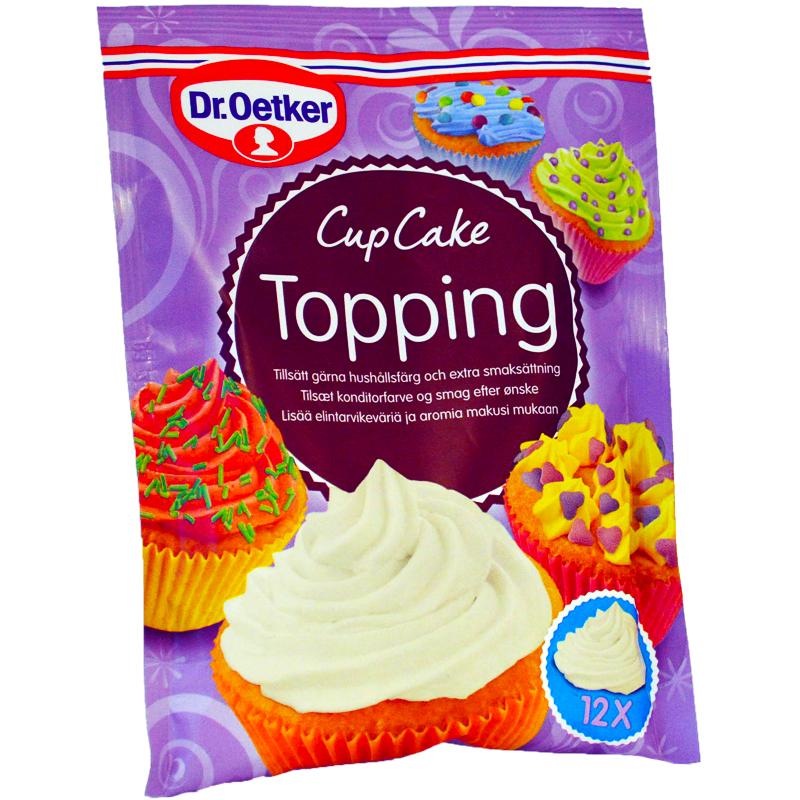Cupcake Topping - 80% rabatt