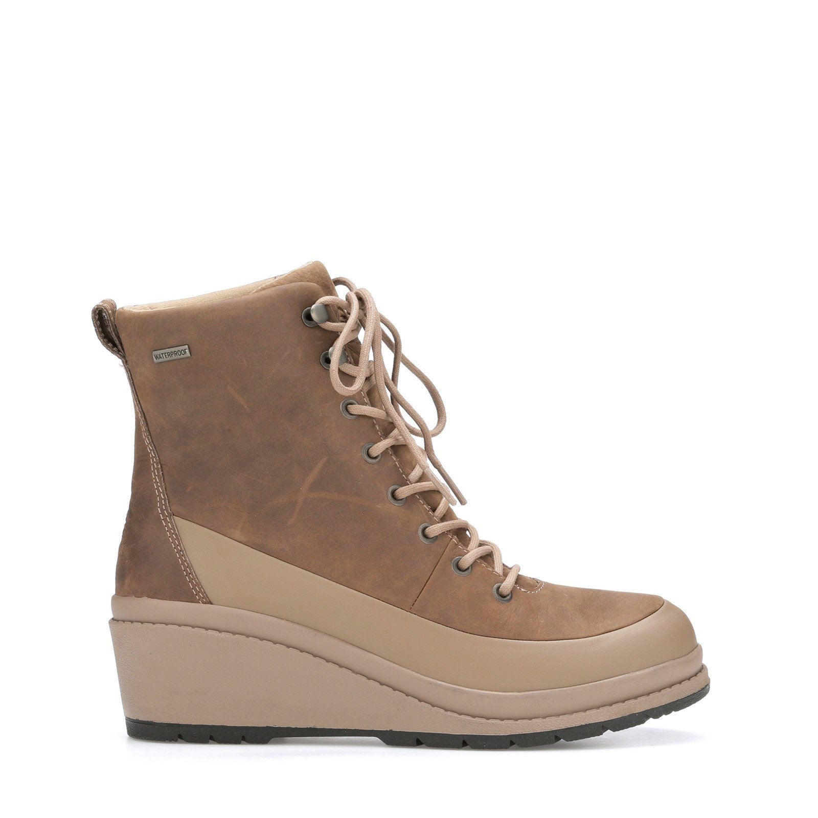 Muck Boots Women's Liberty Leather Ankle Boots Various Colours 31813 - Taupe 3