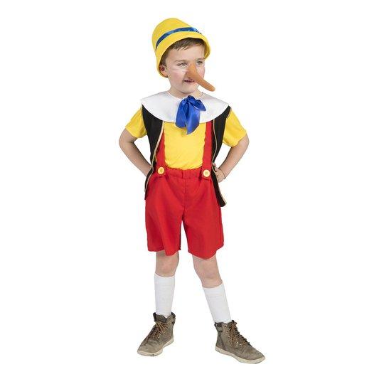 Pinocchio Barn Maskeraddräkt - XX-Small