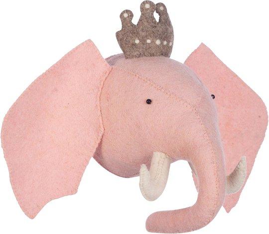 KidsDepot Elefanthode Princess Elephant, Pink